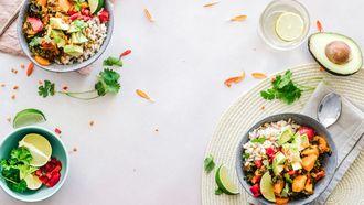 broccolirijst bowls koolhydraatarme recepten