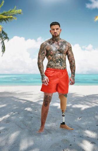 Danny Ex on the beach