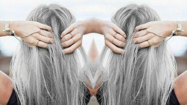 blond haar verven grijs