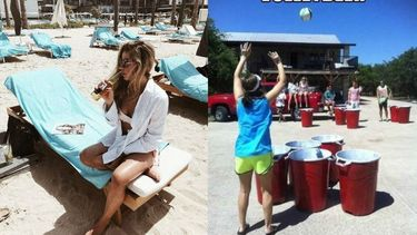 volleybal beer pong