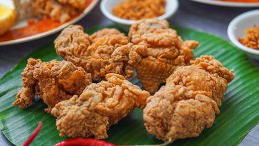Fried chicken recept