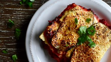 Lasagne recept in een mok
