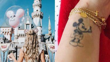 disney tatoeage