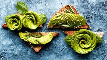 toast met avocado die je met een snijder kunt maken