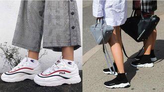 sneaker trends van 2018