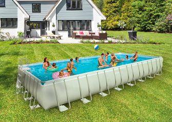 opblaasbaar zwembad 50 vierkante meter