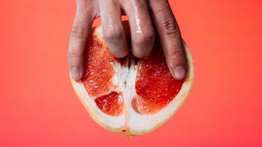 clitoris / hand suggestief bij vrucht