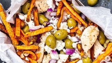 Recept voor Griekse kapsalon