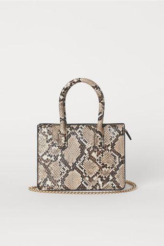 H&M mini tas slangenprint