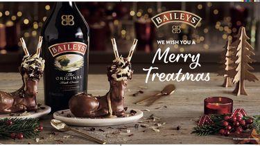 Baileys kerst dessert