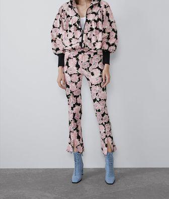 modetrend broek met splitjes