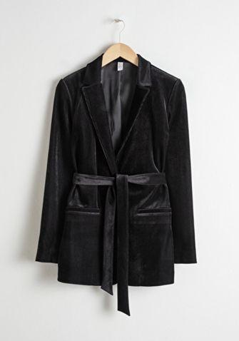 zwarte blazer