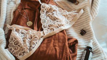 kleding en een bh (een passende bh)