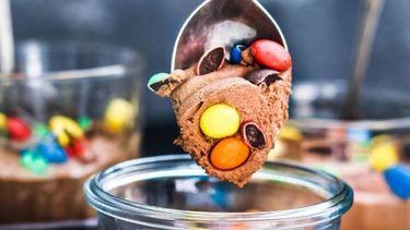 recept chocolademousse met M&M's