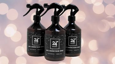 Anti-Gourmetgeur spray feestdagen gourmetten