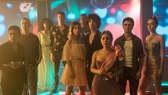Cast van Elite - teen drama's