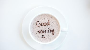 kopje koffie of ochtendseks