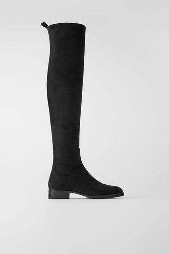 overknee laarzen van zara