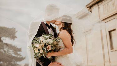 bruiloft van koppel
