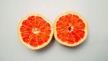 grapefruit (afbeelding borstkanker herkennen)
