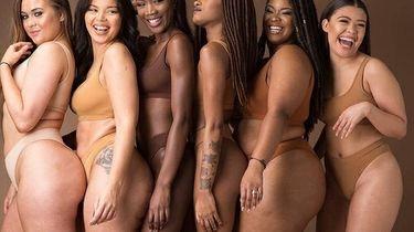 Verschillende vrouwen met verschillende lichaamstypes naast elkaar, cellulitis creme