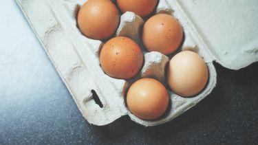 eieren pellen