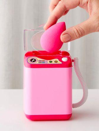 make-upspons schoonmaken