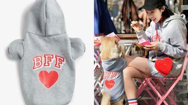 monki hond matchende collectie hoodie