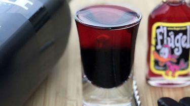 Flügel drop-fruit drankje