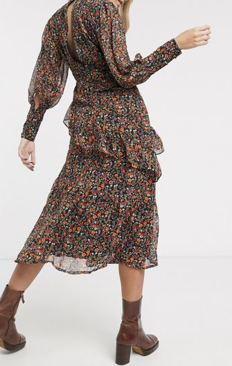 midi jurken modetrend