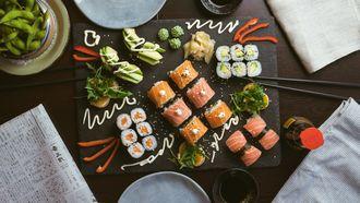 sushi eten langer leven