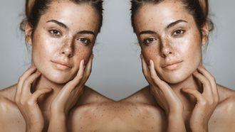 foundation voor een huid met sproetjes