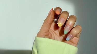 moderne french manicure