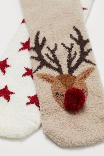 Kerstsokken rendier H&M