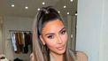 bronde haarkleur Kim Kardashian