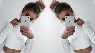 ex bekijkt Instagram Stories